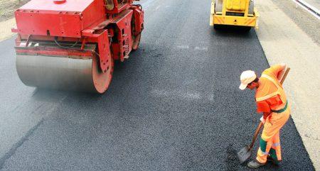 Завершен ремонт дорог на территории