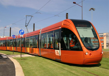 Скоростной трамвай в Марьино